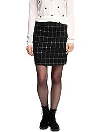 ESPRIT Damen A-Linie Rock mit schönem Muster, Mini