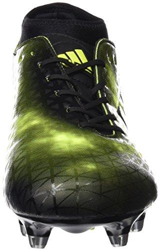 adidas Adizero Malice FG, Scarpe da Rugby Uomo Nero (Negbas/Negbas/Negbas)