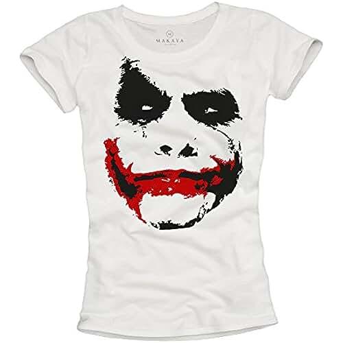 dia del orgullo friki Camiseta Joker Mujer