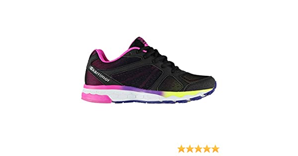 950b4ca4c Karrimor Kids Girls Tempo 5 Running Shoes Road Lace Up Breathable ...