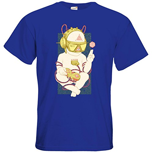 getshirts - Rocket Beans TV Official Merchandising - T-Shirt - Zukunftskind Royal Blue