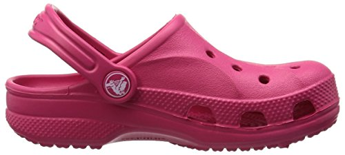 Crocs Baya 10190 Unisex-Kinder Clogs Rot (Raspberry)
