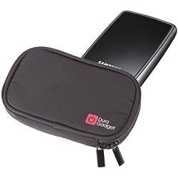 """DURAGADGET Housse Rembourrée en Noir pour Samsung - S2 - Disque dur externe portable - 2,5"""" - USB 2.0 - 500 Go - Noir"""