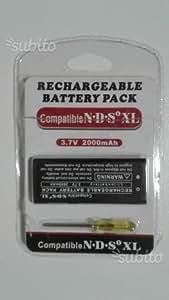 Batterie compatible pour Nintendo DSi XL NDSi XL 2000MAH 3.7V + Tournevis