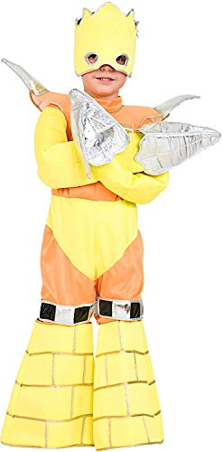 Costume di carnevale da guerriero di gorm trapanatore vestito per ragazzo bambino 7-10 anni travestimento veneziano halloween cosplay festa party 7405 taglia 9/l