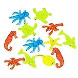 YeahiBaby Spremere Giocattolo a Forma di Animali marini per banbini e Adulti 12 Pezzi
