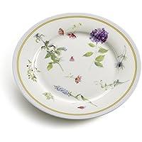 Maxwell & Williams S303201 Butterfly Garden - Piatto ø 19 cm, in confezione regalo, colore: Blu