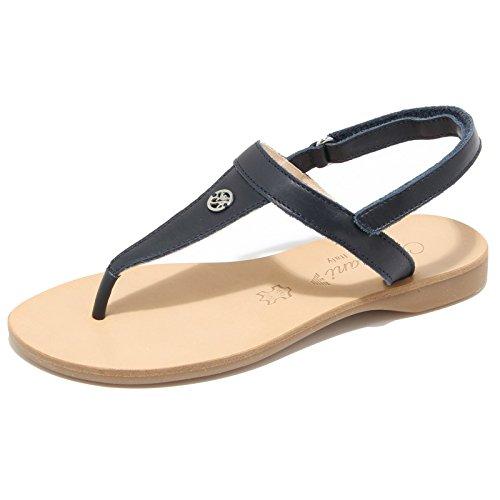 Armani 1370l infradito sandali bimba blu scarpe ciabatte flips-flops sandals kids [34]