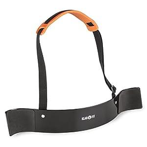Klarfit BiTi Blaster – Bizepstrainer, Trizepstrainer, Armtrainer, Armschiene, Curling, Isolator, anatomische Passform, optimaler Halt, gepolsterte Arm- und Ellenbogenauflage, schwarz