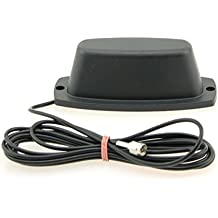 Alda PQ Antena con soporte magnético for 4G (LTE), 3G (UMTS), Wifi & Bluetooth, 2G (GSM), con SMA/M enchufe y 2,5m cable 2 dBi ganancia