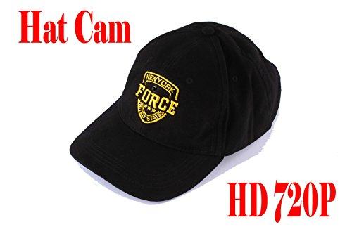 EPTEK@ 16GB TF Karte + HD 1280x720P mini spion Hidden Hat Cap Camera Home Security Hat Cap Camera Camcorder Mini Covert Hat Camera DVR With Remote Control