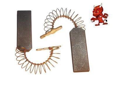 Preisvergleich Produktbild Kohlebürsten Motorkohlen passend für Bosch WOK 2430 , WOK 2431 , WOL 1600 , WOL 2630