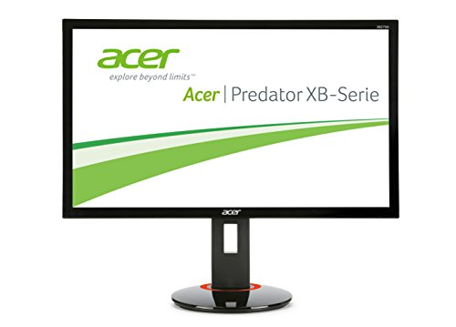 Acer Predator XB270H 144Hz 1ms Height Adjust Pivot Gaming Monitor With HDMI DisplayPort and Speakers