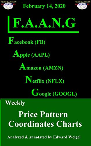 F.A.A.N.G: February 14, 2020: Facebook, Apple, Amazon, Netflix & Google Weekly Price Pattern Coordinates Charts (English Edition)
