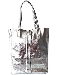 4749b62b088ae Suchergebnis auf Amazon.de für  metallic shopper silber - Nicht ...