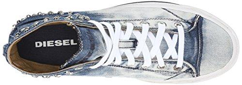 Diesel MAGNETE EXPOSURE IV W - Damen Schuhe Sneaker - Y00638 P0583 Blau