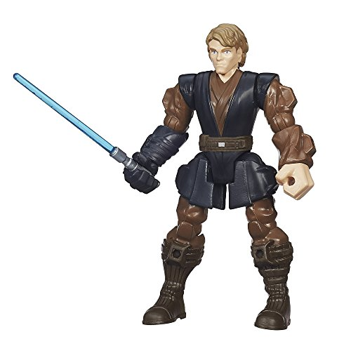 STAR WARS - Episodio III - Figura Anakin Skywalker Jedi, Hero Mashers (B3660)