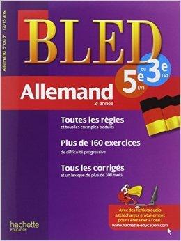 Cahier Bled - Allemand 2e année de Benoît Despas ( 11 janvier 2012 )