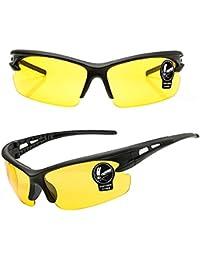 Gafas de sol deportivas Equitación Ciclismo Running Eyewear Gafas, mujer hombre Infantil, amarillo