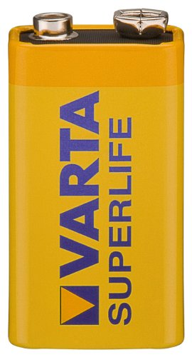VARTA, 1 Pile Superlife 2022 9V E-Block 6F22