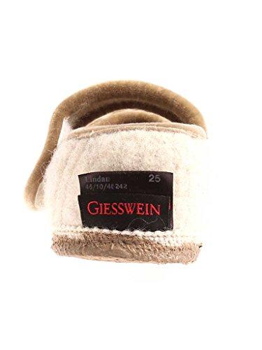 Giesswein Kinderhausschuhe unisex Hausschuhe Lindau Wolle warm Klett Lamm