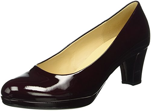 Gabor Shoes 51.260 Damen Plateau Pumps, Rot (merlot (LFS natur) 71), 38.5 EU (5.5 Damen UK)