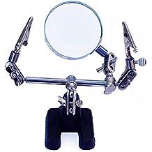 Max-Power 040207 Supporto Robot Terza Mano per Lavori di Precisione, Saldatura, (Elettronica)