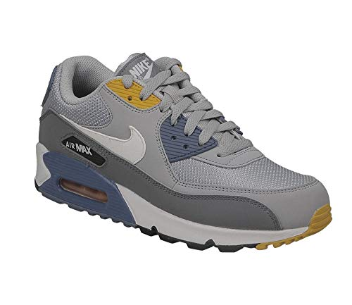 quality design 37718 36890 Nike Air Max 90 Essential, Chaussures de Gymnastique Homme, Gris (Wolf Grey