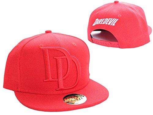 Marvel Daredevil Logo Snapback Cap (rot)