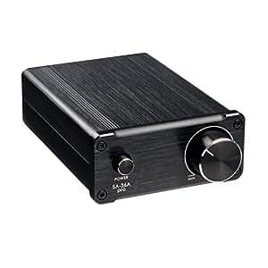 EnGive SA-36A Pro 2x25W TPA3118D2 Tripath Amplifier HiFi Auto Stereo Digital Endstufen Mini Verstärker Schwarz