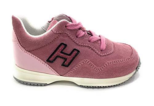 HOGAN Bambino Interactive Bambina HXT0920V310HB9 Rosa Sneaker Inverno 24