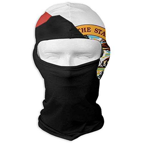 USA Flag Ski Mask Sun UV Protection Dust Protection Wind-Resistant Face Mask for Running Cycling Fishing Unisex ()