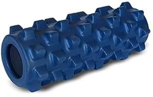 66fit Original Rumble Roller - Blue, 12.5 x 30 cm