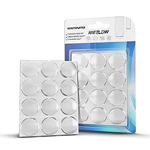 Rietlow Türpuffer 12er Set – Selbstklebende Puffer mit einem extra starken Halt einen optimalen Wandschutz