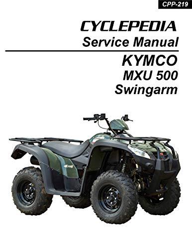 KYMCO MXU 500 Swingarm ATV Service Manual