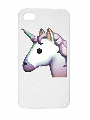 """Preisvergleich Produktbild Smartphone Case Apple IPhone 4/ 4S """"Pferdekopf bzw. Einhorn, Pinkes/Rosa Einhornkopf Magisch schön"""", der wohl schönste Smartphone Schutz aller Zeiten."""