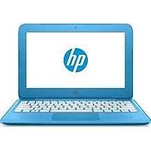 "HP Stream 11-y000ns - Ordenador Portátil de 11.6"" HD (Intel Celeron N3060, 2 GB RAM, 32 GB eMMC, Intel HD Graphics 400, Windows 10);Azul Aqua - Teclado QWERTY Español"