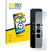 2x BROTECT HD-Clear Film Protection Apple Remote Control Apple TV 4 Protection Ecran - Transparent, Anti-Trace