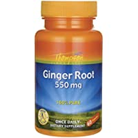 Ginger Root 550 mg 60 Caps by Thompson preisvergleich bei billige-tabletten.eu