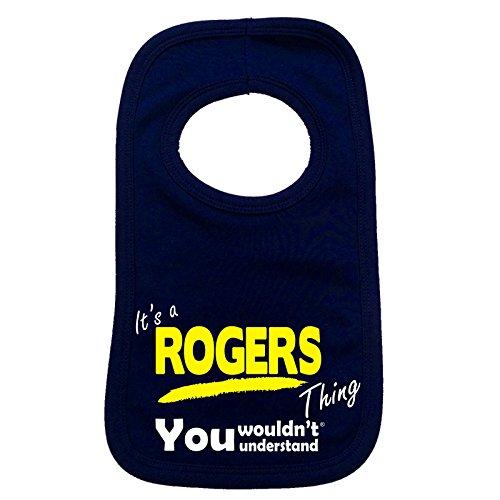 123t-its-a-rogers-thing-you-non-sarebbe-comprendere-bavaglino-per-bambino-blu-navy-taglia-unica