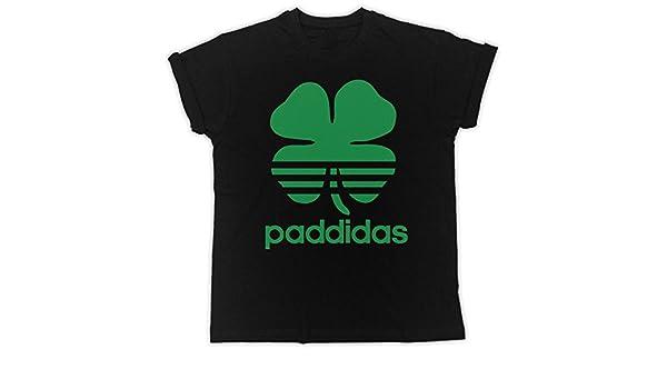 Slogan Patricks Day Irish Shamrock Cooler Spruch lustiges Design Geschenkidee Uk print king PAddidas St