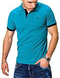 JACK & JONES Herren Poloshirt Polo Polohemd Kurzarmshirt Shirt Basic