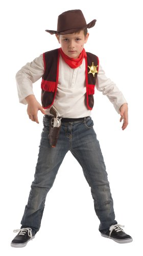 Disguise Cowboy Set for Children (5-8 Years)