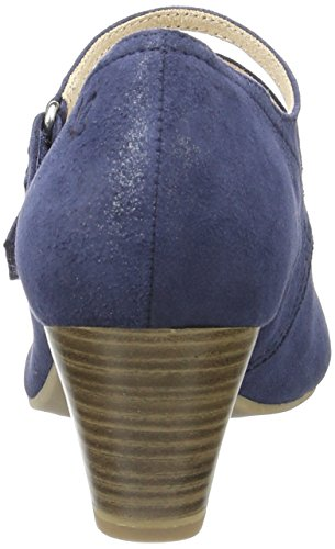 Caprice 24203, Escarpins Femme Bleu (Ocean Suede)