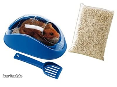 Ferplast Koky Hamster Toilet With Spoon & Pet Litter from Monster Pet Supplies