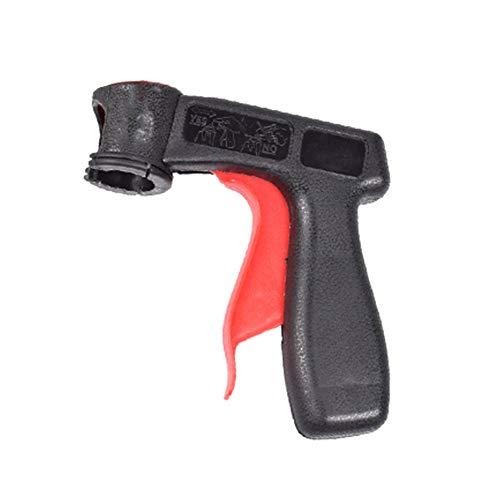 Rot-aerosol (XuBa Tragbarer Sprüh-Adapter, Sprühpistole, Griff mit Vollgriff-Auslöser schwarz/rot)