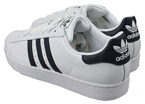 adidas Superstar II, Sneaker Uomo White/navy