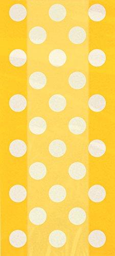 s Polka Dot Partytüten aus Zellophan, 20Stück ()
