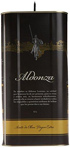 Aceite de Oliva Virgen Extra, Aldonza - 5 L -Primera Extración en...