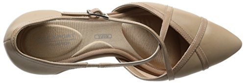 Rockport Tm75mmpth Cross, Scarpe col tacco Donna Beige (warm Taupe)